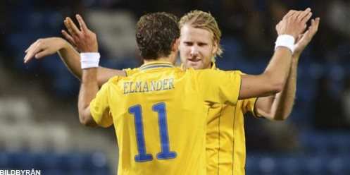 Johan Elmander and Ola Toivonen