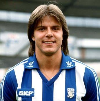 A young Roland Nilsson at IFK Göteborg. - rolandnilssonblavitt